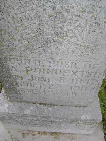 POINDEXTER (VETERAN CSA), JOHN R. - Lawrence County, Arkansas   JOHN R. POINDEXTER (VETERAN CSA) - Arkansas Gravestone Photos