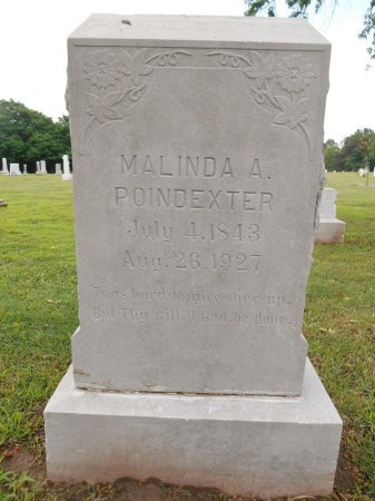POINDEXTER, MALINDA ANN - Lawrence County, Arkansas | MALINDA ANN POINDEXTER - Arkansas Gravestone Photos