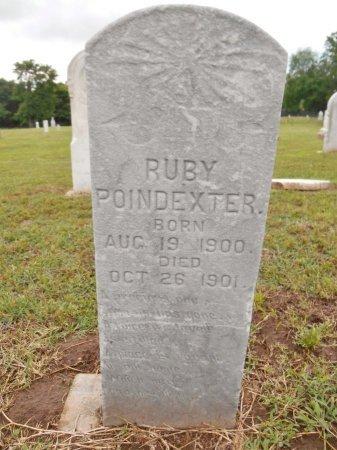 POINDEXTER, RUBY - Lawrence County, Arkansas | RUBY POINDEXTER - Arkansas Gravestone Photos