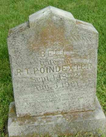 POINDEXTER, BELL - Lawrence County, Arkansas | BELL POINDEXTER - Arkansas Gravestone Photos