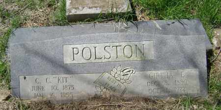 POLSTON, GIRTHA EVELINE - Lawrence County, Arkansas | GIRTHA EVELINE POLSTON - Arkansas Gravestone Photos