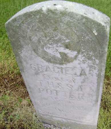 POTTER, GRACIE A. - Lawrence County, Arkansas | GRACIE A. POTTER - Arkansas Gravestone Photos