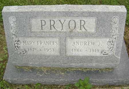 PRYOR, ANDREW J. - Lawrence County, Arkansas | ANDREW J. PRYOR - Arkansas Gravestone Photos