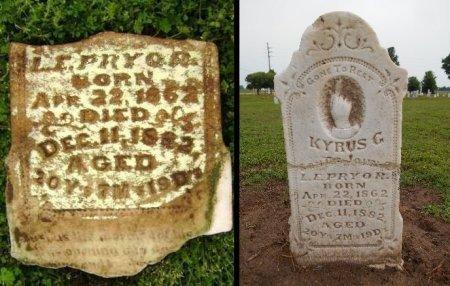 PRYOR, KYRUS C - Lawrence County, Arkansas | KYRUS C PRYOR - Arkansas Gravestone Photos