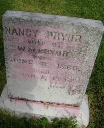 PRYOR, NANCY - Lawrence County, Arkansas   NANCY PRYOR - Arkansas Gravestone Photos