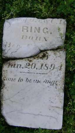 RING, WILLIAM R. - Lawrence County, Arkansas | WILLIAM R. RING - Arkansas Gravestone Photos