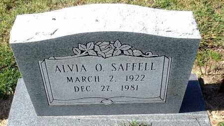 SAFFELL, ALVIA OLAND - Lawrence County, Arkansas | ALVIA OLAND SAFFELL - Arkansas Gravestone Photos