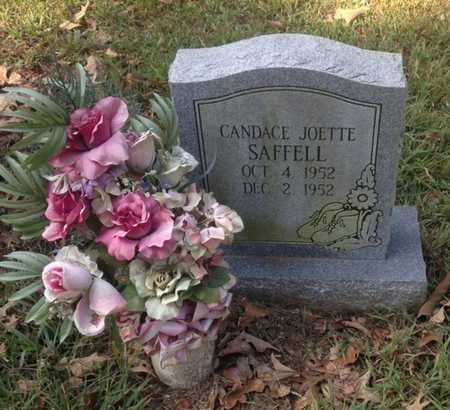SAFFELL, CANDACE JOETTE - Lawrence County, Arkansas | CANDACE JOETTE SAFFELL - Arkansas Gravestone Photos