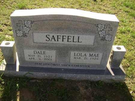 SAFFELL (VETERAN WWII), WALBERT DALE - Lawrence County, Arkansas | WALBERT DALE SAFFELL (VETERAN WWII) - Arkansas Gravestone Photos