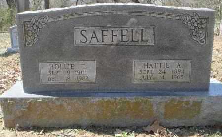 SAFFELL, HOLLIE THOMAS - Lawrence County, Arkansas | HOLLIE THOMAS SAFFELL - Arkansas Gravestone Photos