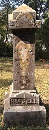 SAFFELL, HIRAM OLIVER - Lawrence County, Arkansas | HIRAM OLIVER SAFFELL - Arkansas Gravestone Photos