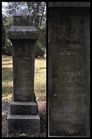 "SAFFELL, MARY ""POLLY"" - Lawrence County, Arkansas 