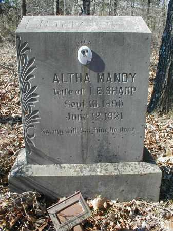SHARP, ALTHA AMANDA - Lawrence County, Arkansas | ALTHA AMANDA SHARP - Arkansas Gravestone Photos