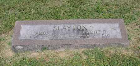 SLAYTON, MYRTLE D - Lawrence County, Arkansas | MYRTLE D SLAYTON - Arkansas Gravestone Photos