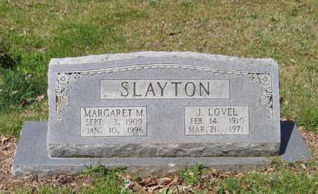 SLAYTON, JOHN LOVEL - Lawrence County, Arkansas | JOHN LOVEL SLAYTON - Arkansas Gravestone Photos