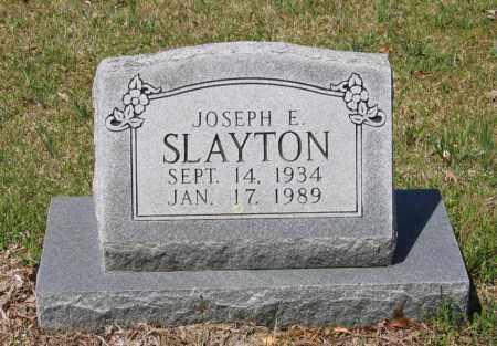 SLAYTON, JOSEPH EARL - Lawrence County, Arkansas | JOSEPH EARL SLAYTON - Arkansas Gravestone Photos