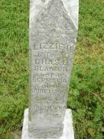 SLAYTON, LIZZIE O. - Lawrence County, Arkansas | LIZZIE O. SLAYTON - Arkansas Gravestone Photos