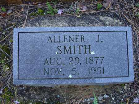"""SMITH, ALLENA JEANETTE """"ALLENER"""" - Lawrence County, Arkansas 
