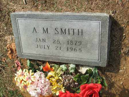 """SMITH, ALFRED MAYBERRY """"A. M."""" - Lawrence County, Arkansas 