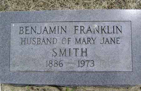 SMITH, BENJAMIN FRANKLIN - Lawrence County, Arkansas | BENJAMIN FRANKLIN SMITH - Arkansas Gravestone Photos