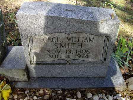 SMITH, CECIL WILLIAM - Lawrence County, Arkansas   CECIL WILLIAM SMITH - Arkansas Gravestone Photos