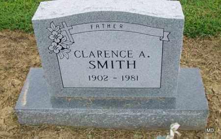 SMITH, CLARENCE A - Lawrence County, Arkansas   CLARENCE A SMITH - Arkansas Gravestone Photos