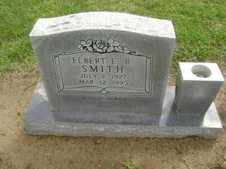 SMITH, ELBERT B - Lawrence County, Arkansas | ELBERT B SMITH - Arkansas Gravestone Photos