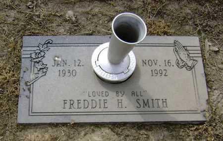SMITH, FREDDIE H. - Lawrence County, Arkansas   FREDDIE H. SMITH - Arkansas Gravestone Photos