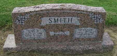 SMITH, ONA BEATRICE - Lawrence County, Arkansas | ONA BEATRICE SMITH - Arkansas Gravestone Photos