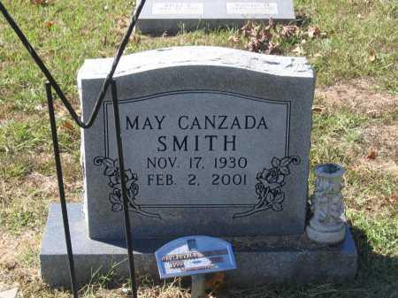 SMITH, MAY CANZADA - Lawrence County, Arkansas | MAY CANZADA SMITH - Arkansas Gravestone Photos