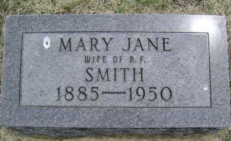 SMITH, MARY JANE - Lawrence County, Arkansas   MARY JANE SMITH - Arkansas Gravestone Photos
