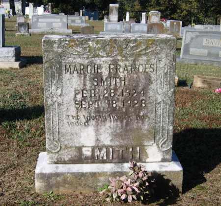SMITH, MARGIE FRANCES - Lawrence County, Arkansas   MARGIE FRANCES SMITH - Arkansas Gravestone Photos