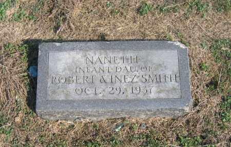 SMITH, NANETTE - Lawrence County, Arkansas   NANETTE SMITH - Arkansas Gravestone Photos