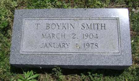 SMITH, T. BOYKIN - Lawrence County, Arkansas   T. BOYKIN SMITH - Arkansas Gravestone Photos