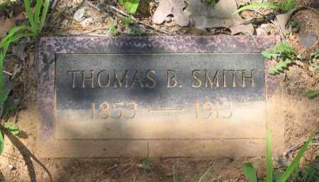 SMITH, THOMAS B. - Lawrence County, Arkansas   THOMAS B. SMITH - Arkansas Gravestone Photos