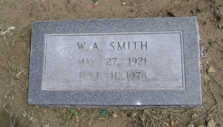 "SMITH, WILLIAM ARTHUR ""W. A."" - Lawrence County, Arkansas   WILLIAM ARTHUR ""W. A."" SMITH - Arkansas Gravestone Photos"