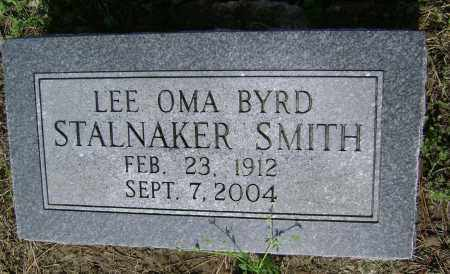SMITH, LEE OMA BYRD STALNAKER - Lawrence County, Arkansas   LEE OMA BYRD STALNAKER SMITH - Arkansas Gravestone Photos