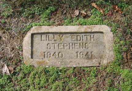 STEPHENS, LILLY EDITH - Lawrence County, Arkansas | LILLY EDITH STEPHENS - Arkansas Gravestone Photos