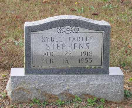 STEPHENS, SYBLE PARLEE - Lawrence County, Arkansas | SYBLE PARLEE STEPHENS - Arkansas Gravestone Photos