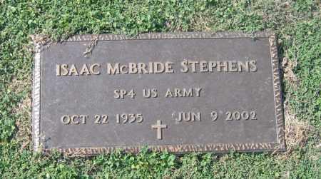 STEPHENS (VETERAN), ISAAC MCBRIDE - Lawrence County, Arkansas | ISAAC MCBRIDE STEPHENS (VETERAN) - Arkansas Gravestone Photos