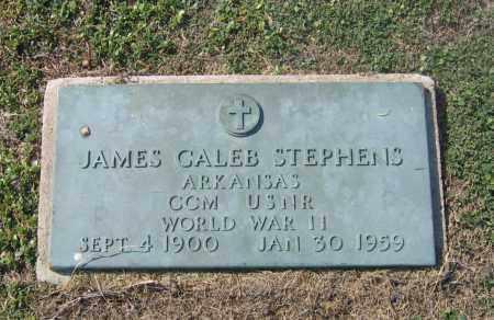 STEPHENS (VETERAN WWII), JAMES CALEB - Lawrence County, Arkansas | JAMES CALEB STEPHENS (VETERAN WWII) - Arkansas Gravestone Photos