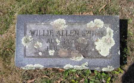 ALLEN, WILLIE - Lawrence County, Arkansas | WILLIE ALLEN - Arkansas Gravestone Photos