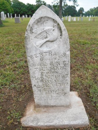 TILLMAN, BERTHA S - Lawrence County, Arkansas | BERTHA S TILLMAN - Arkansas Gravestone Photos