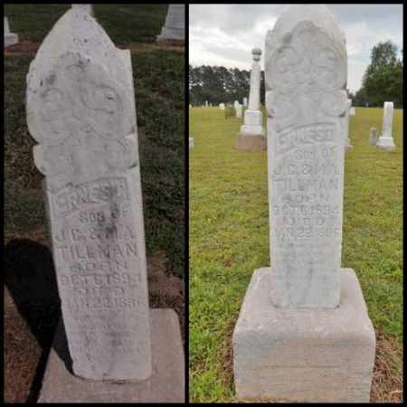 TILLMAN, ERNEST - Lawrence County, Arkansas   ERNEST TILLMAN - Arkansas Gravestone Photos