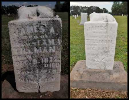 TILLMAN, JAMES A - Lawrence County, Arkansas | JAMES A TILLMAN - Arkansas Gravestone Photos