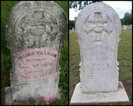 TILLMAN, JOSIAH - Lawrence County, Arkansas | JOSIAH TILLMAN - Arkansas Gravestone Photos