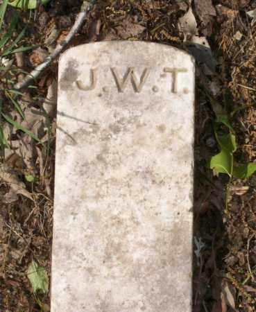 TISDALE, J W (FOOTSTONE) - Lawrence County, Arkansas | J W (FOOTSTONE) TISDALE - Arkansas Gravestone Photos