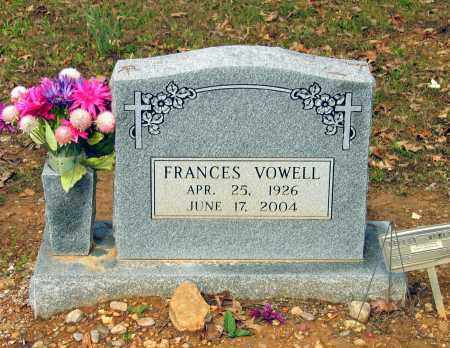 VOWELL, NELLIE FRANCES - Lawrence County, Arkansas   NELLIE FRANCES VOWELL - Arkansas Gravestone Photos
