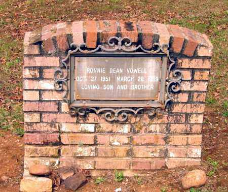 VOWELL, RONNIE DEAN - Lawrence County, Arkansas | RONNIE DEAN VOWELL - Arkansas Gravestone Photos