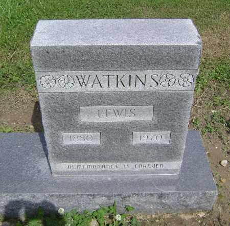 WATKINS, LEWIS ELBERT - Lawrence County, Arkansas | LEWIS ELBERT WATKINS - Arkansas Gravestone Photos